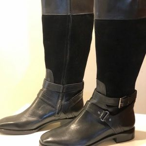JOAN & DAVID black tall boots 8 1/2